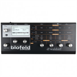 WALDORF Blofeld Virtual Analog Synthesizer Μαύρο