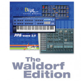 WALDORF The Waldorf Edition Virtual Synthesizer Plug-in