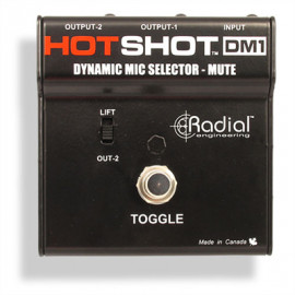 RADIAL Hotshot DM1 Stage MIC Toggle