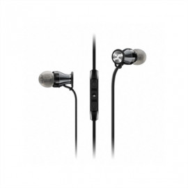 SENNHEISER Momentum M2-In-Ear-i-Black-Chrome Ακουστικά με Μικρόφωνο