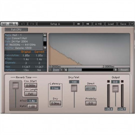 WAVES IR-L Convolution Reverb (Licence Only)