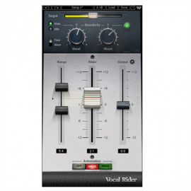 WAVES Vocal Rider Plugin (License Only)
